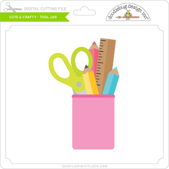 Cute & Crafty - Tool Jar