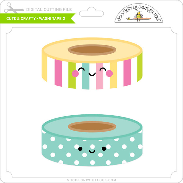 Cute & Crafty - Washi Tape 2