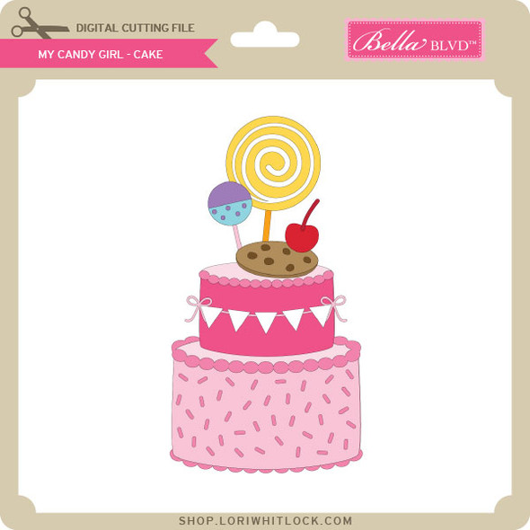 My Candy Girl - Cake