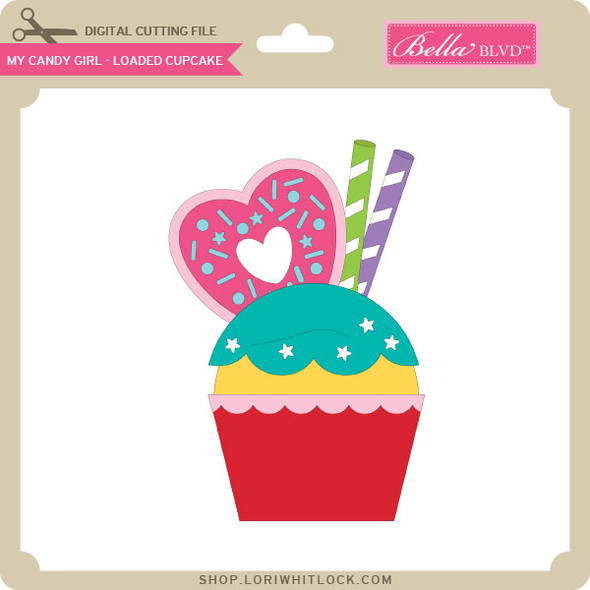 My Candy Girl - Loaded Cupcake