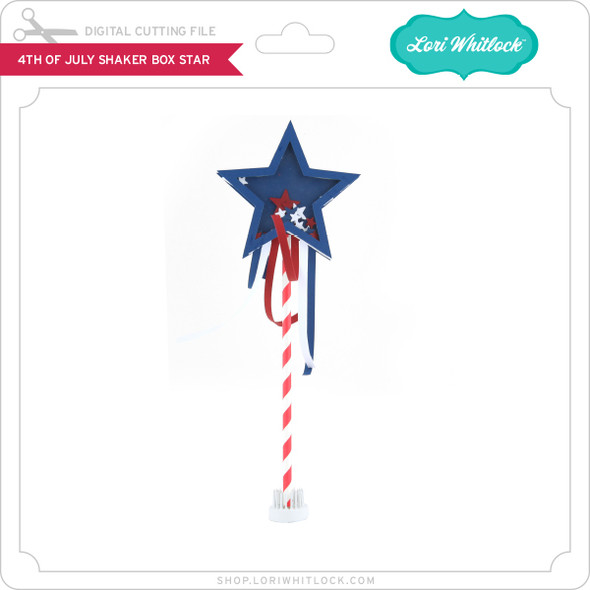 4th Of July Shaker Star