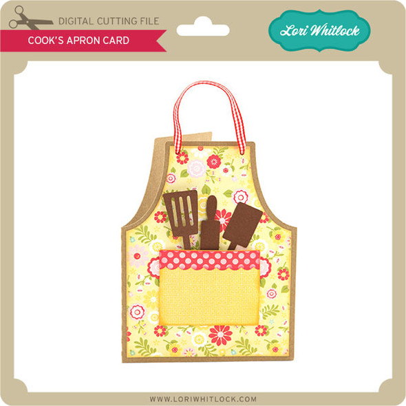 Cook's Apron Card
