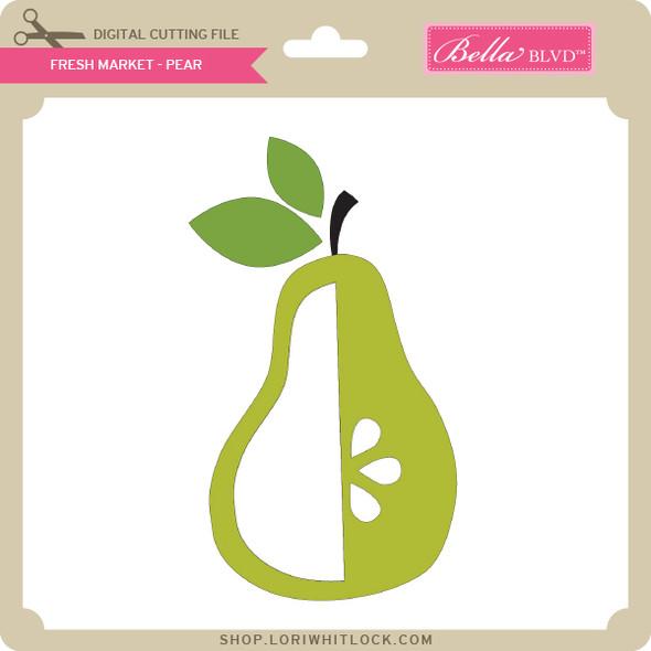 Fresh Market - Pear