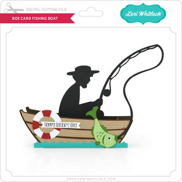 Box Card Fishing Boat