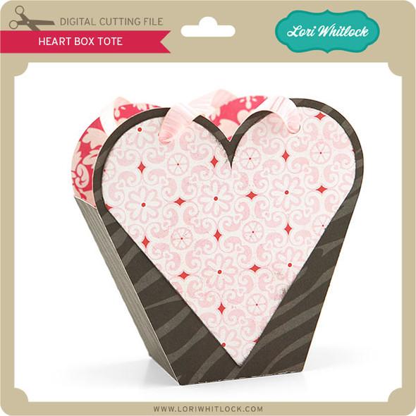 Heart Box Tote