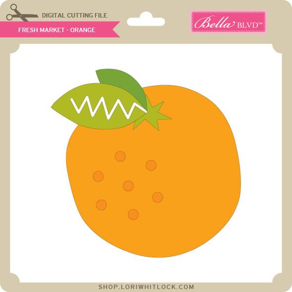 Fresh Market - Orange