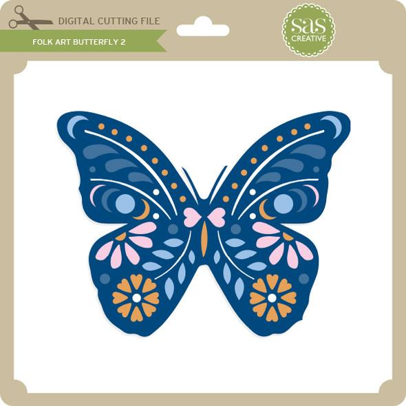 Folk Art Butterfly 2