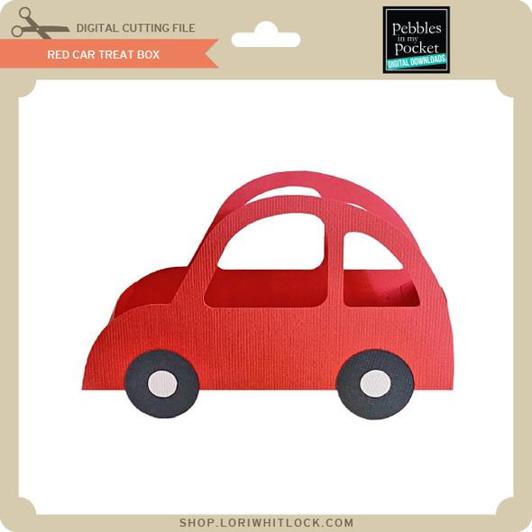 Red Car Treat Box