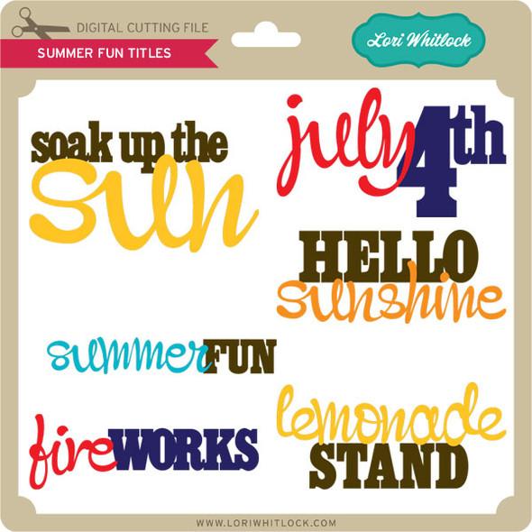 Summer Fun Titles