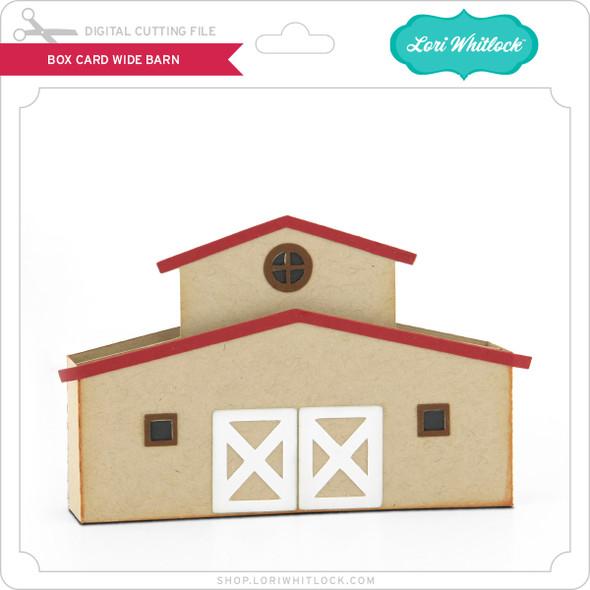 Box Card Wide Barn