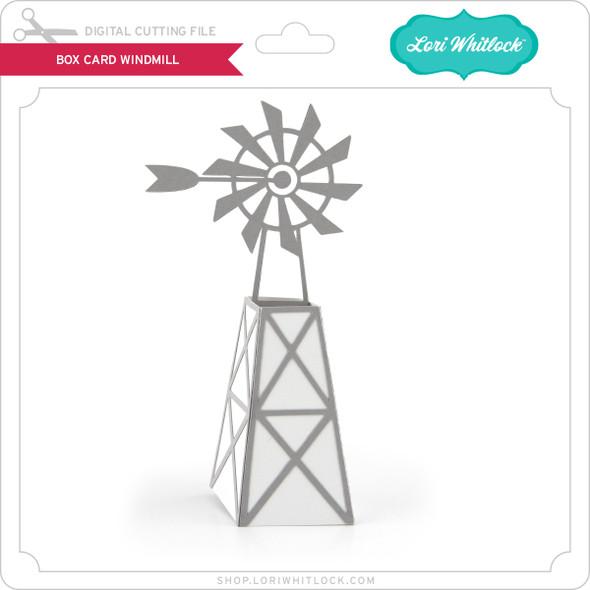 Box Card Windmill