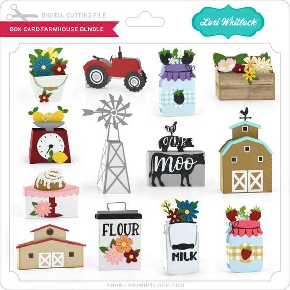 Box Card Farmhouse Bundle
