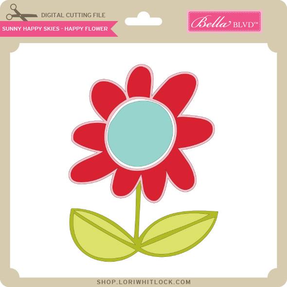 Sunny Happy Skies - Happy Flower