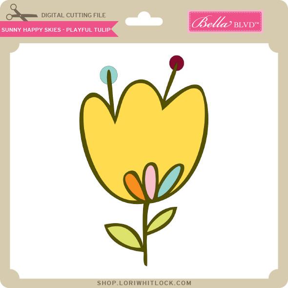 Sunny Happy Skies - Playful Tulip