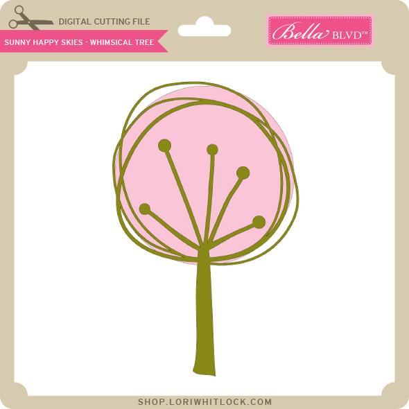 Sunny Happy Skies - Whimsical Tree