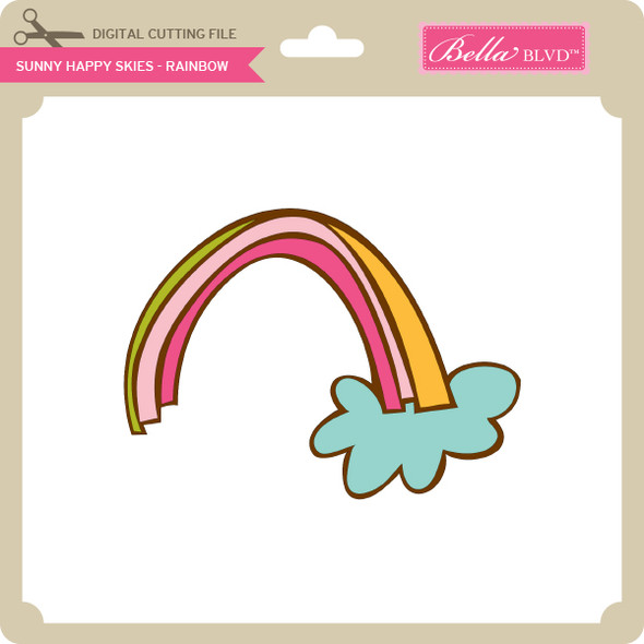 Sunny Happy Skies - Rainbow