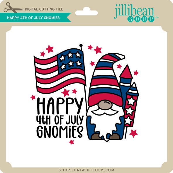 Happy 4th of July Gnomies