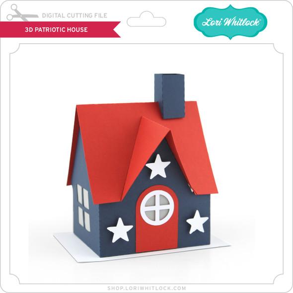 3D Patriotic House