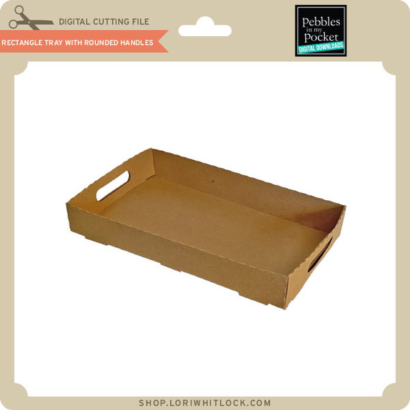 Rectangle Tray With Rounded Handles