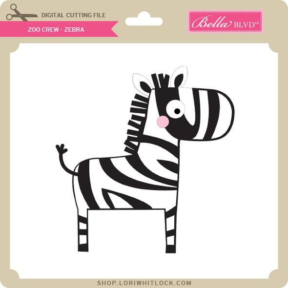 Zoo Crew - Zebra