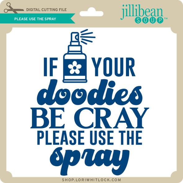 Please Use the Spray