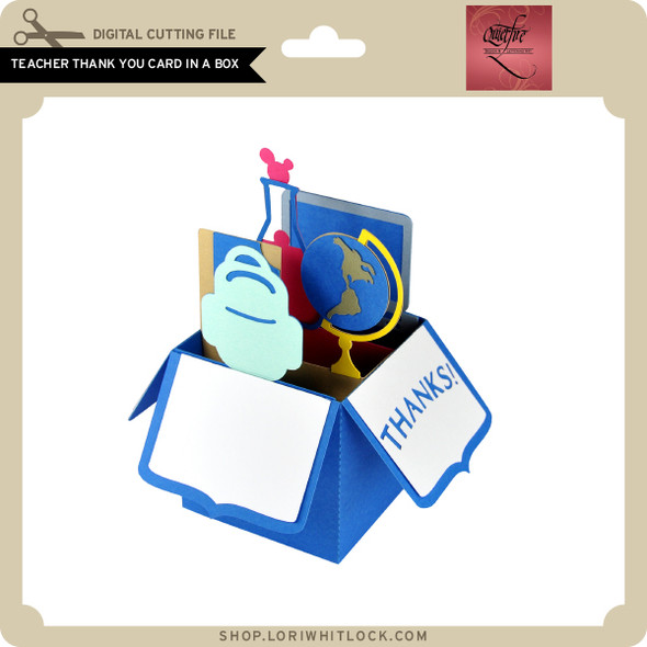 Teacher Thank You Card in a Box
