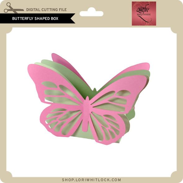 Butterfly Shaped Box