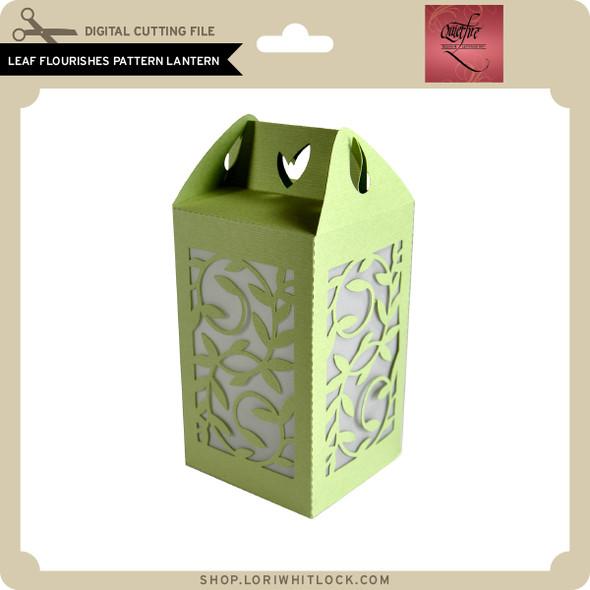 Leaf Flourishes Pattern Lantern