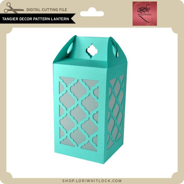 Tangier Decor Pattern Lantern