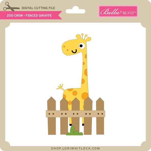 Zoo Crew - Fenced Giraffe