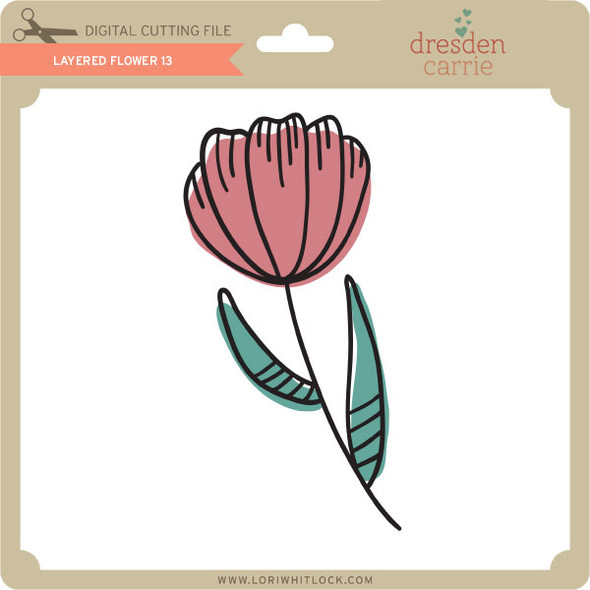 Layered Flower 13