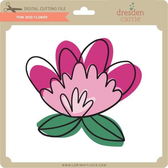 Pink Mod Flower