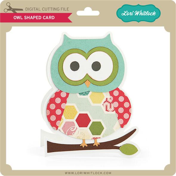 Owl Shaped Card