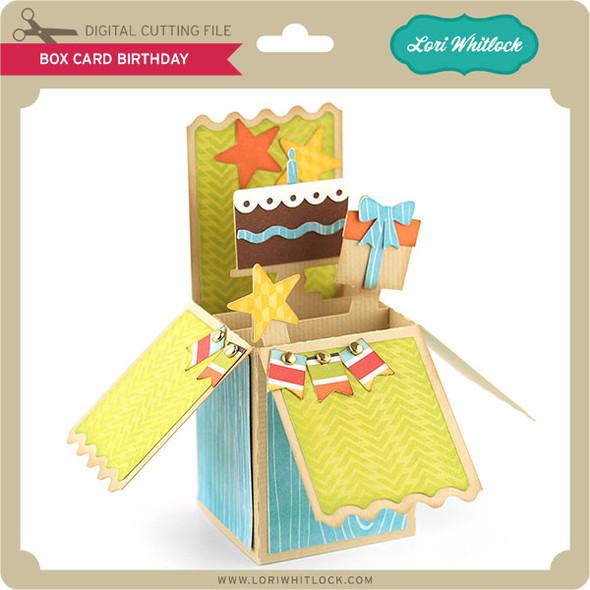 Box Card Birthday