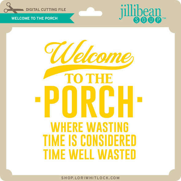 Welcome to the Porch