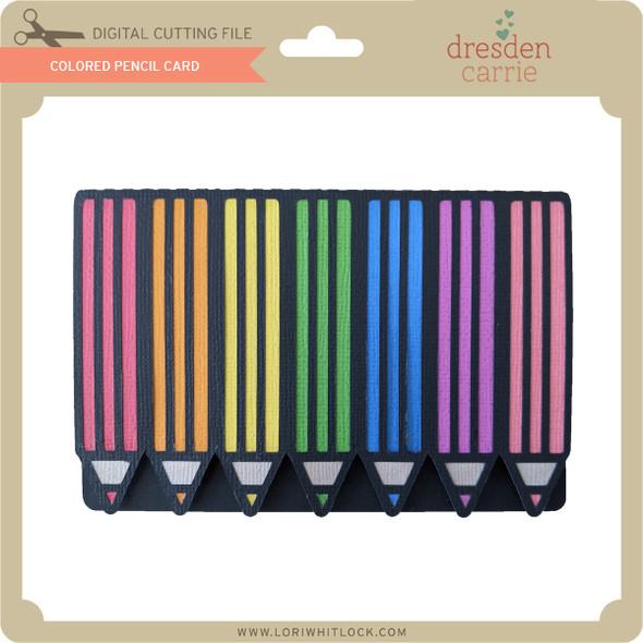 Colored Pencil Card