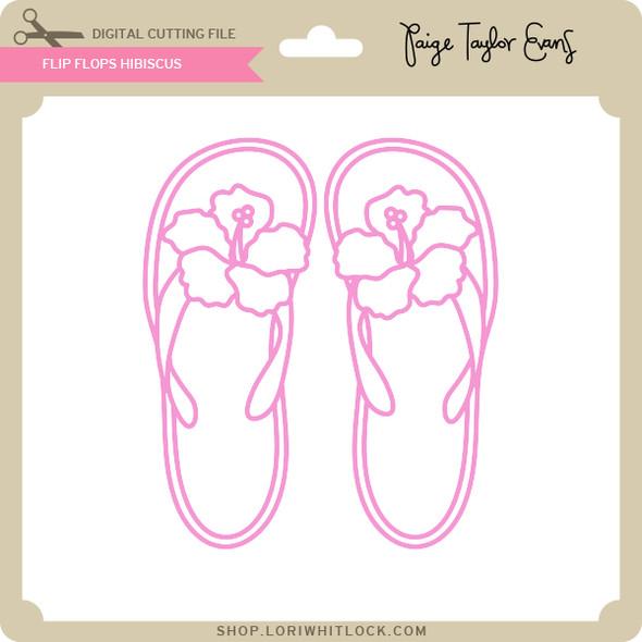 Flip Flops Hibiscus
