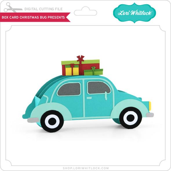 Box Card Christmas Bug Presents