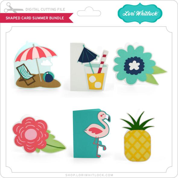 Shaped Card Summer Bundle