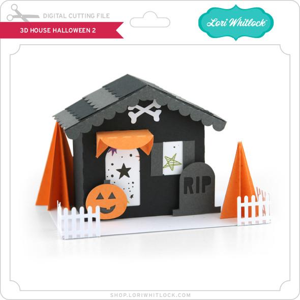 3D House Halloween 2