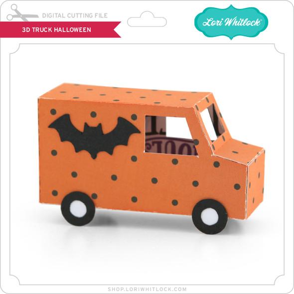 3D Truck Halloween