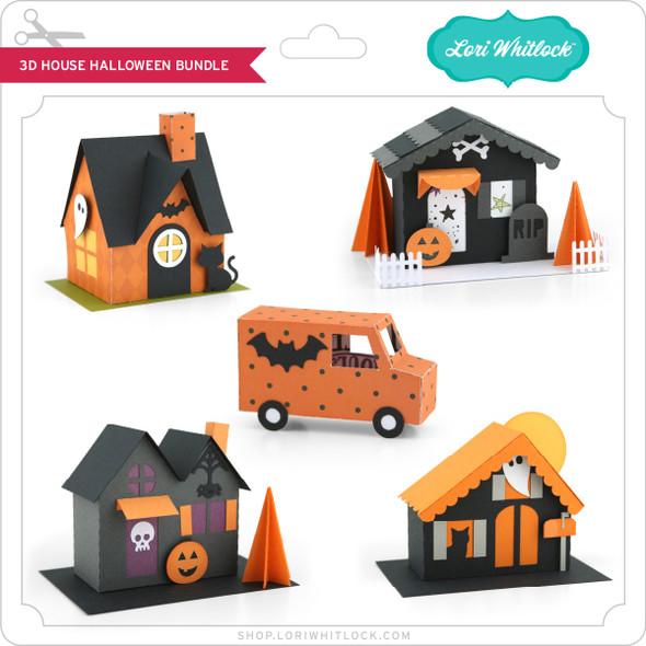 3D House Halloween Bundle