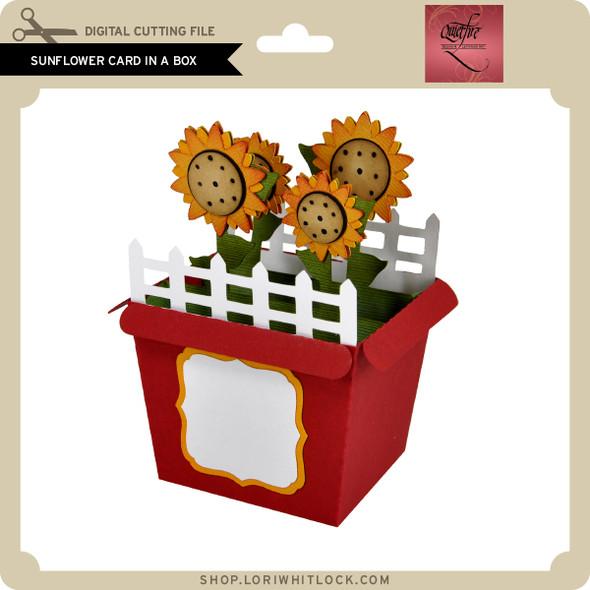 Sunflower Card in a Box