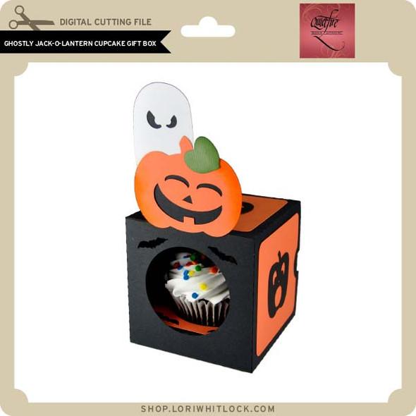 Ghosty Jack O Lantern Cupcake Gift Box