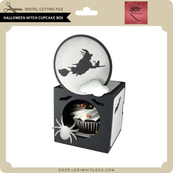 Halloween Witch Cupcake Gift Box