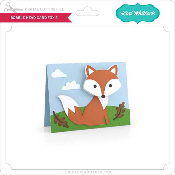 Bobble Head Card Fox 2