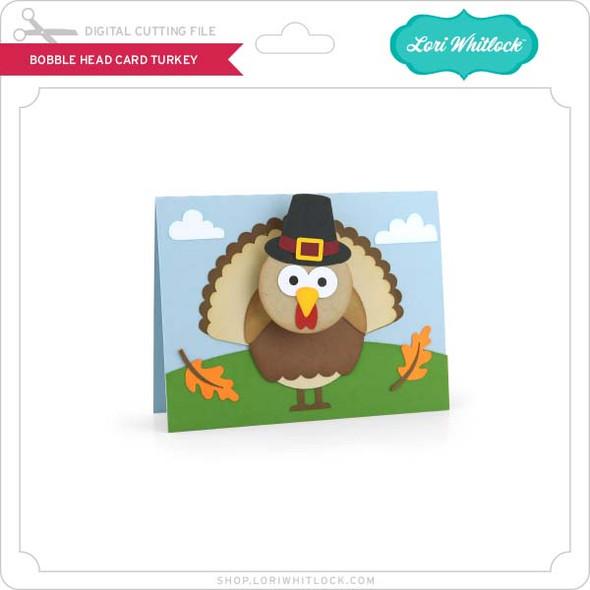 Bobble Head Card Turkey