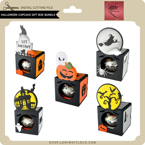 Halloween Cupcake Gift Box Bundle