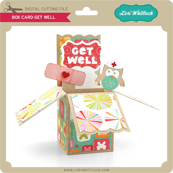 Box Card Get Well