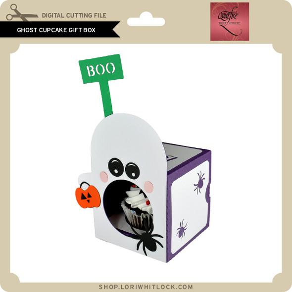Ghost Cupcake Gift Box